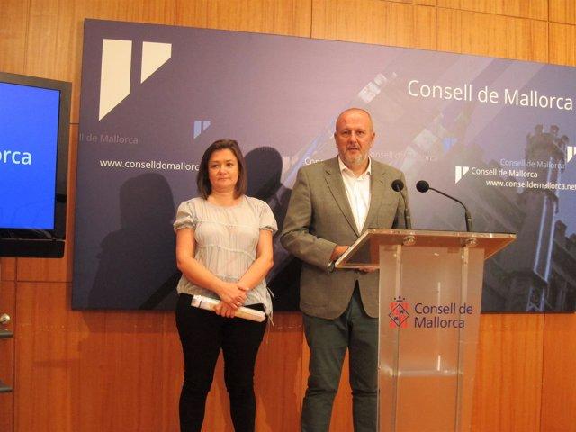Mercedes Garrido y Miquel Ensenyat