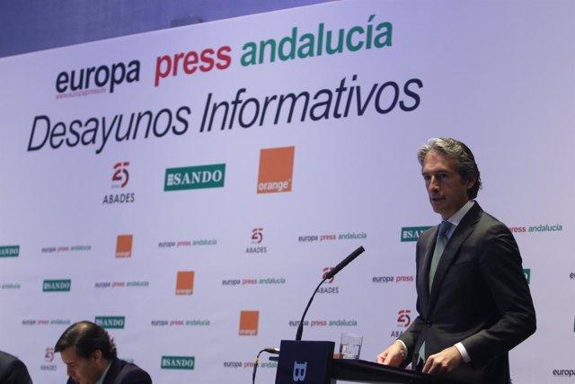 Ministro de Fomento, Íñigo de la Serna.