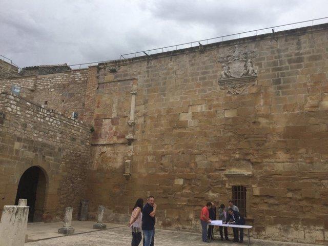 Proyecto de restauración de la torre del castillo de Sabiote