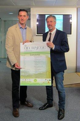 Azcona y Rodríguez presentan el Campus Oja Musica