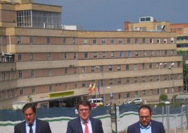 """Mañueco afirma """"alto y claro"""" que el PP de CyL """"va a defender la unidad de España"""""""