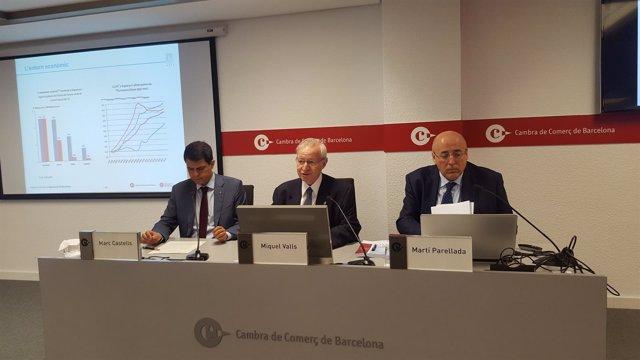 Miquel Valls, Marc Castells y Martí Parellada