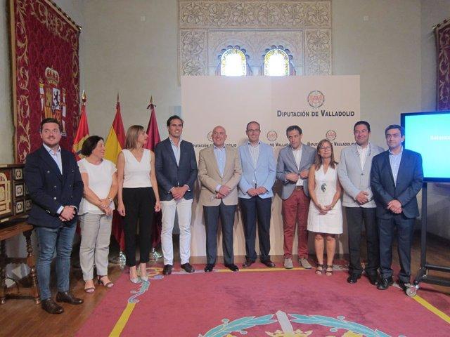 Valladolid. Carnero hace balance de dos años de mandato en la Diputación
