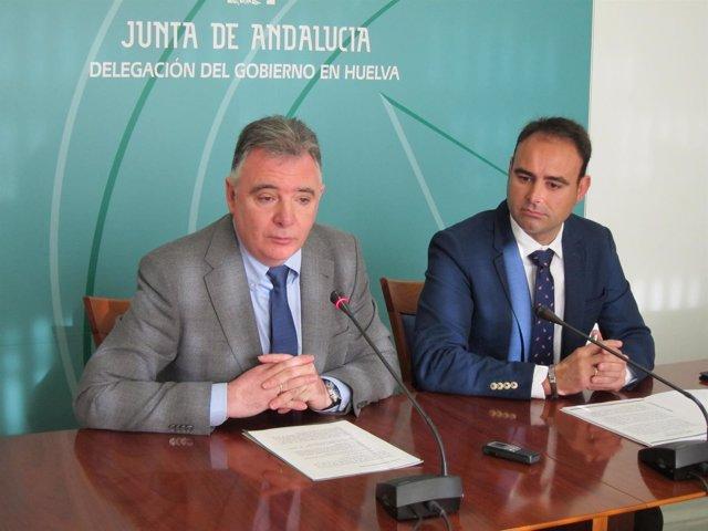 El delegado de la Junta de Andalucía en Huelva, Francisco José Romero.