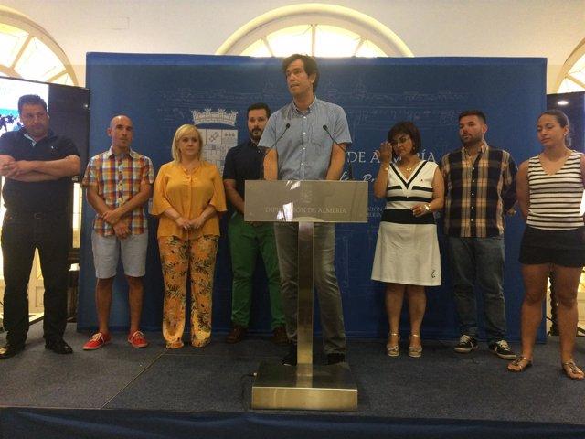 El director de Deportes, Juan José Salvador, ha presentado este circuito.