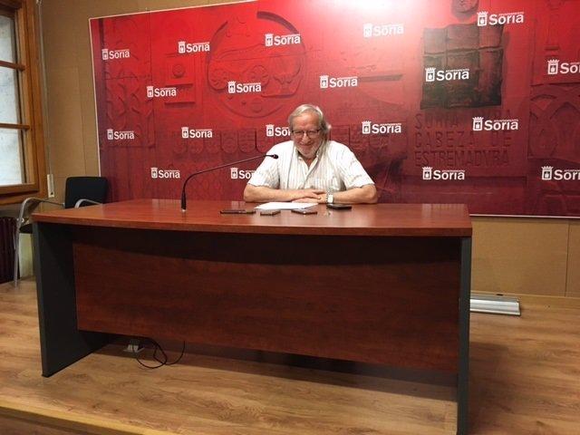 Jesús Bárez pregunta la programación cultural de Soria