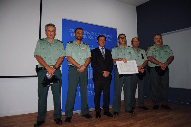 Condecorados con Medallas al Mérito de la Protección Civil