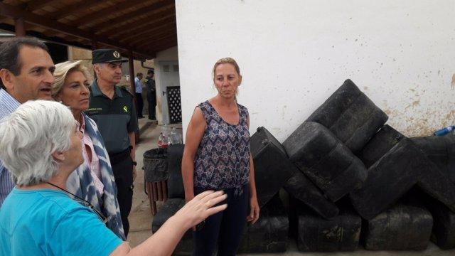 Delegada visita Valverde