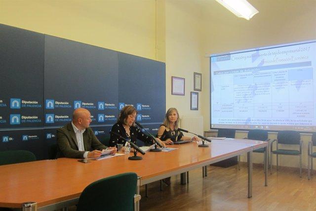 Presentación de las ayudas al tejido industrial de la Diputación de Palencia