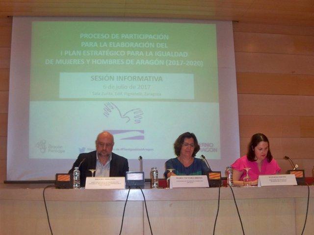 Presentación del proceso de participación para el Plan Estratégico de Igualdad