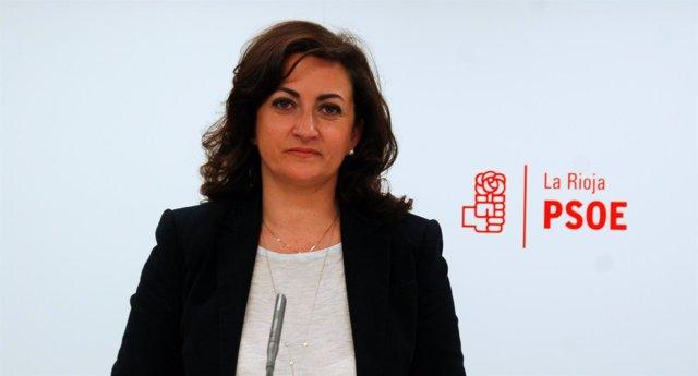 La portavoz del PSOE en el Parlamento de La Rioja, Concha Andreu