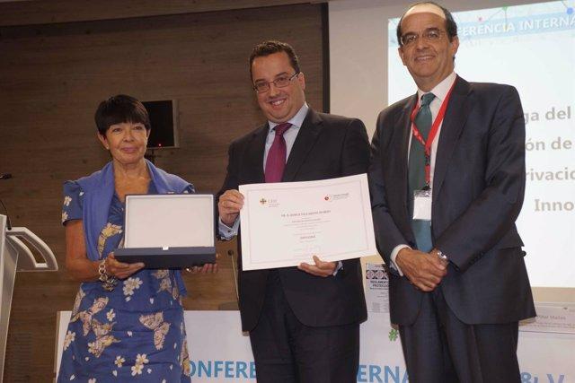 V Premio de Investigación de la Cátedra Google que ha recibido Jorge Villarino