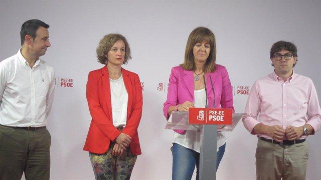 Torres, González, Mendia y Andueza
