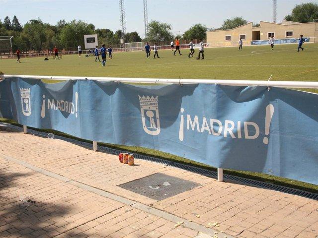 Imagen de un campo de fútbol