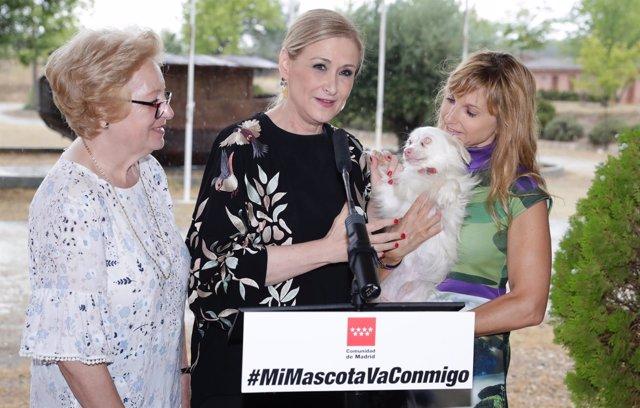 Cristina Cifuentes en Morata de Tajuña