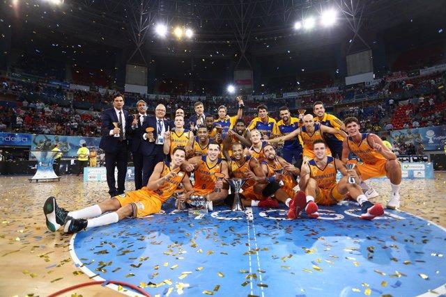 El Herbalife Gran Canaria, campeón de la Supercopa de España
