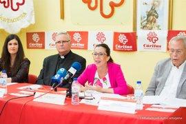 Cáritas abrirá en septiembre en Cartagena un nuevo centro de acogida de baja exigencia para personas sin hogar