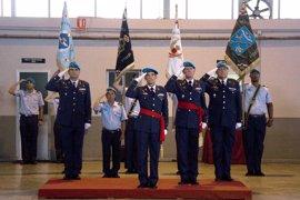 El coronel Fernando Carrillo toma posesión como nuevo jefe del Grupo Móvil de Control Aéreo