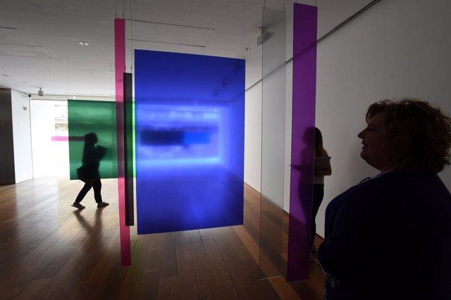 Exposición 'Dieciocho colores para un ensayo' en el Centro José Guerrero