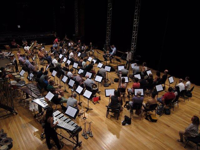 Ensayo del concierto 'Vagamundo' de Santiago Ause