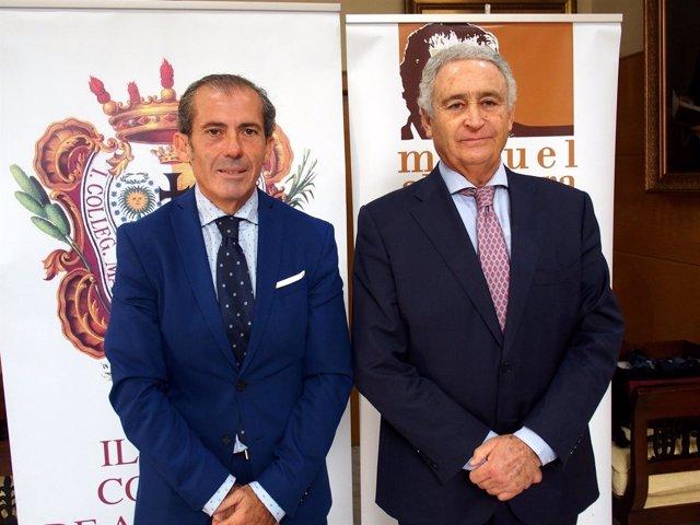 Lara y Pedraza. Presentación Premio Miramar