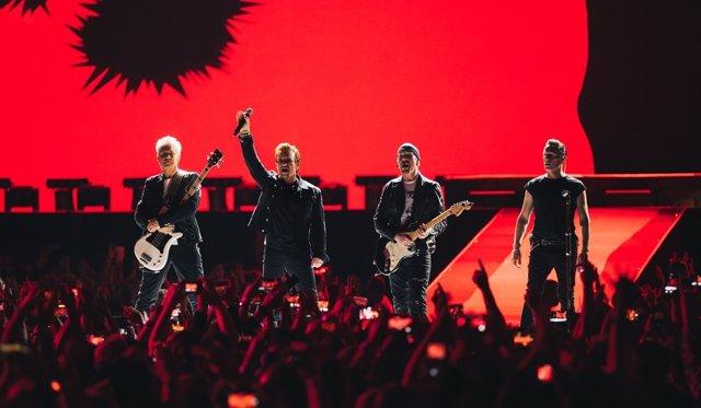 U2 en The Joshua Tree Tour