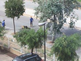 Imágenes del tiroteo desde un coche en Gavà (Barcelona)