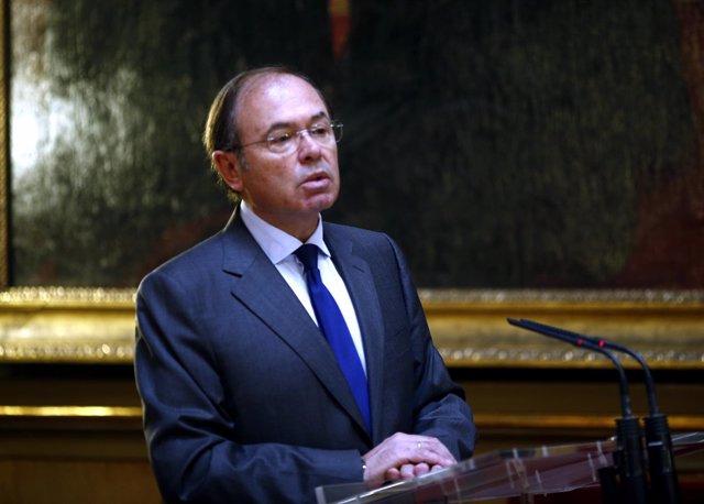 Pío García-Escudero en el Senado