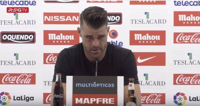 Iván Pichu Cuéllar se despide del Sporting