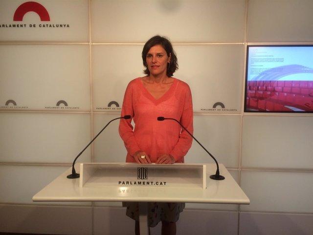 Portavoz adjunta del PP en el Parlament, Esperanza García