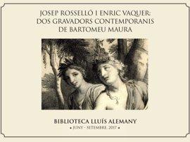 La Misericordia expone una nueva muestra de grabados del fondo de la Biblioteca Lluís Alemany