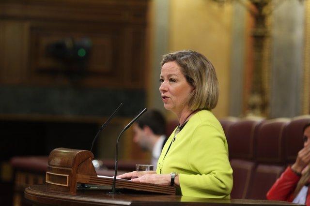 Ana Oramas en el debate sobre Presupuestos en el Congreso