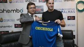 """Chichizola: """"Llego a la UD Las Palmas en mi mejor momento"""""""