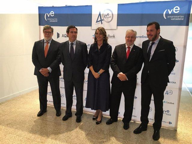Valladolid.- Momentos previo a la celebración de los 40 años de la CVE