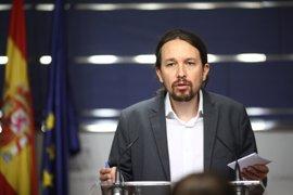 """Pablo Iglesias dice que le """"preocupa"""" la situación en Venezuela y que """"en España hagan política utilizándolo"""""""