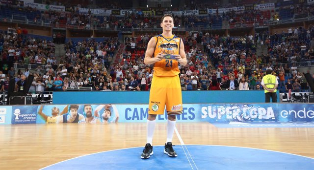 Kyle Kuric, MVP de la Supercopa Endesa