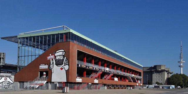 Estado de fútbol del St. Pauli, Millerntor, en Hamburgo