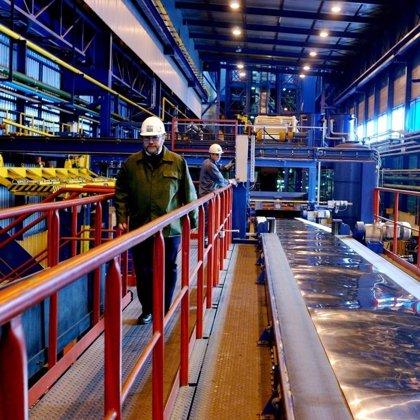 La producción industrial se recupera con fuerza en mayo tras subir un 4,6%