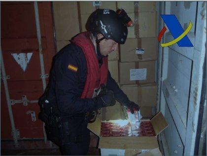 Incautadas 3,2 millones de cajetillas en la mayor operación contra el contrabando de tabaco en España