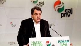 """PNV cree cualquier iniciativa para Cataluña llega """"tarde"""" y el """"choque de trenes"""" del 1 de octubre """"ya es inevitable"""""""