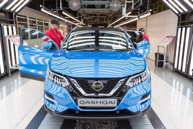 Producción del Nissan Qashqai