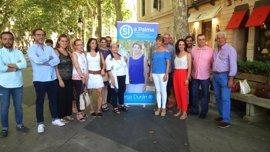 Durán destaca el papel del afiliado en su proyecto para presidir el PP de Palma