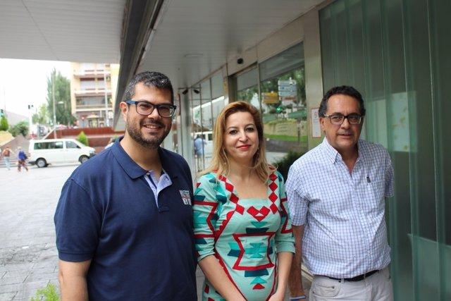 Podemos Andalucía visita los hospitales públicos de Granada