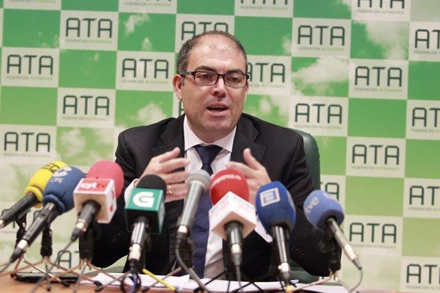 Lorenzo Amor, presidnete de ATA