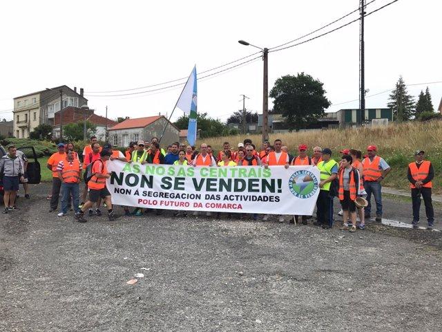 Protesta de Ferroatlántica