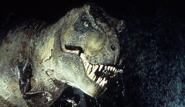 T-Rex en 'Parque Jurásico'