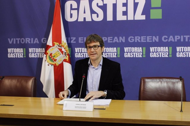 El alcalde de Vitoria, Gorka Urtaran (PNV)