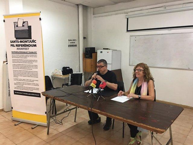 Plataforma Unitaria Sants-Montjuïc por el Referèndum