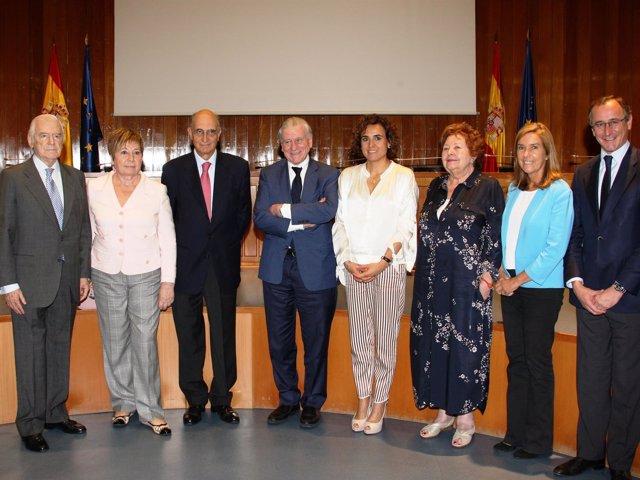 Homenaje a Joán Rodés del Consejo Asesor de Sanidad