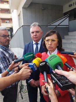 La consejera de Justicia e Interior, Rosa Aguilar.
